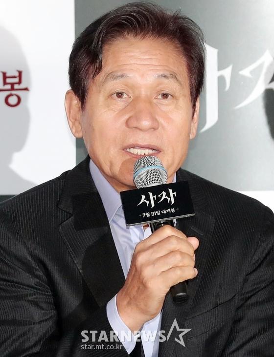 배우 안성기 /사진=김창현 기자