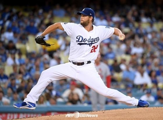 LA 다저스 '슈퍼 에이스' 클레이튼 커쇼. /AFPBBNews=뉴스1