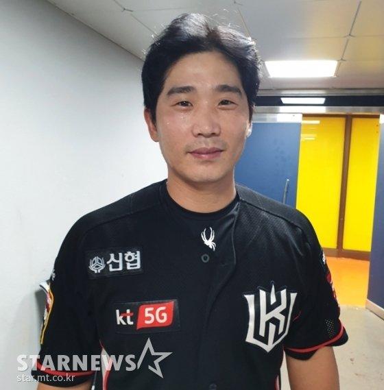 14일 경기 후 만난 KT 박경수./사진=심혜진 기자