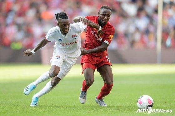 리버풀의 나비 케이타(오른쪽). /사진=AFPBBNews=뉴스1