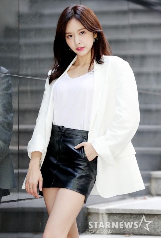 MBN수목드라마 레벨업 배우 한보름 인터뷰 / 사진=김창현 기자 chmt@
