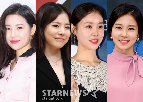 (왼쪽부터) 선미, 써니, 김예원, 장예원./사진=스타뉴스