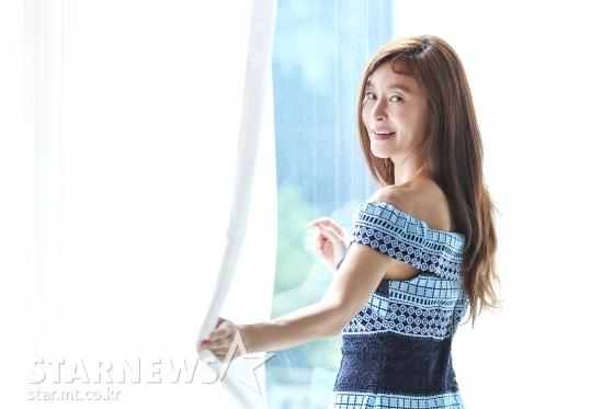 채널A 드라마 '평일 오후 세시의 연인' 배우 예지원 인터뷰 / 사진=이기범 기자 leekb@