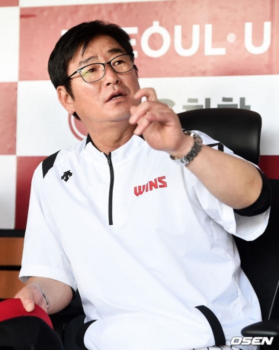 LG 트윈스 류중일 감독.
