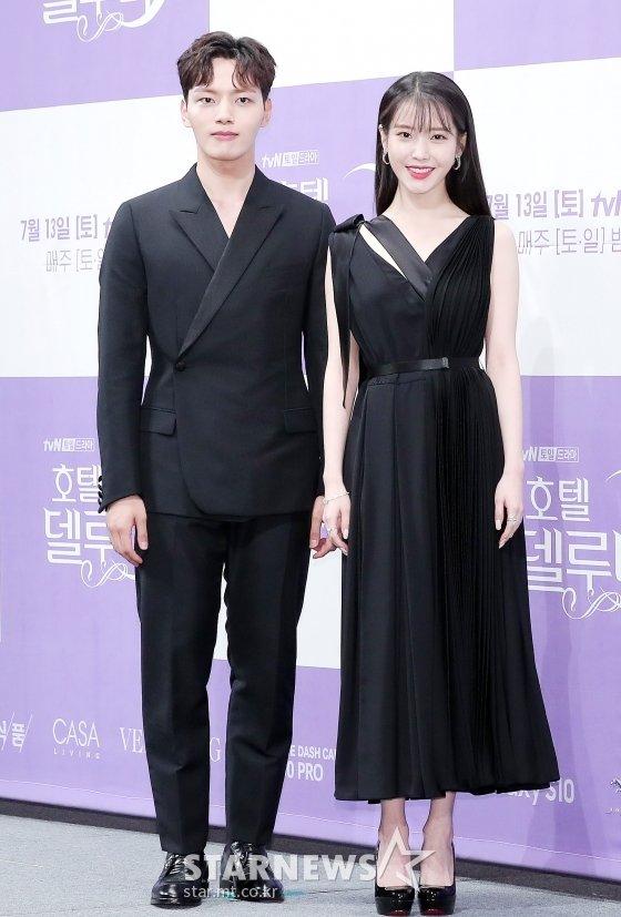 배우 여진구(왼쪽), 이지은 /사진=김창현 기자