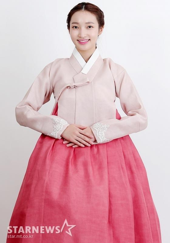 배우 지혜원 한복 인터뷰 / 사진=김창현 기자 chmt@