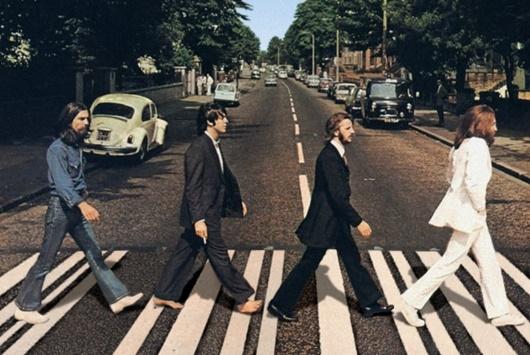 /사진=비틀즈 'Abbey Road' 앨범 재킷