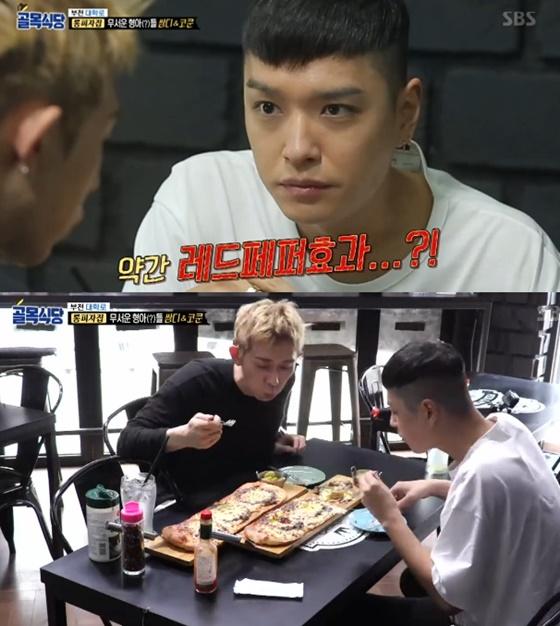 쌈디와 코드쿤스트./사진=SBS '백종원의 골목식당' 방송화면 캡처