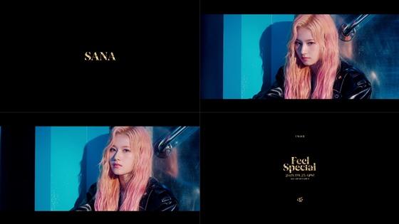 /사진=트와이스 'Feel Special' 티저 영상 캡처