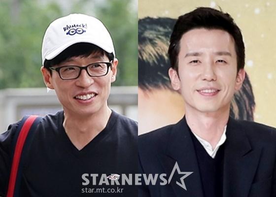 유재석(왼쪽)과 유희열./사진=스타뉴스