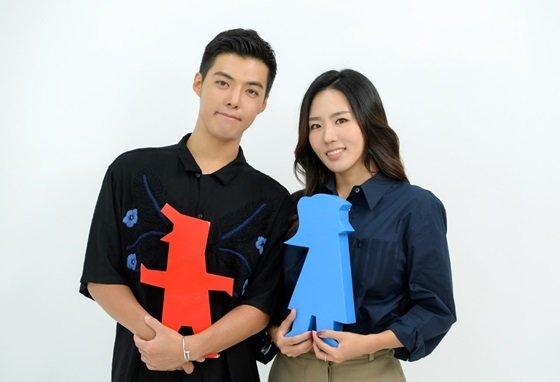 강남(왼쪽)과 이상화./사진제공=SBS