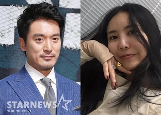 김민준(왼쪽)과 권다미./사진=스타뉴스, 권다미 인스타그램