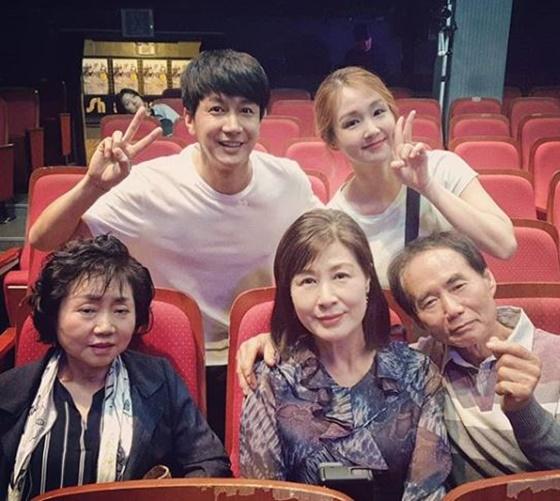오정연과 김승현 가족./사진=오정연 인스타그램
