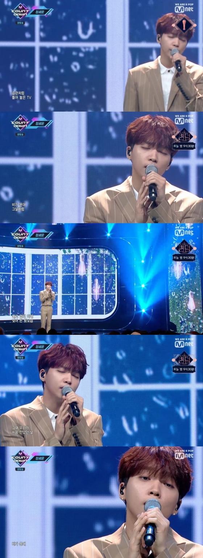 /사진=Mnet 음악 순위 프로그램 '엠카운트다운' 캡처