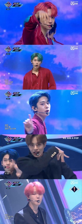 /사진=Mnet 음악 순위 프로그램 '엠 카운트다운' 캡처