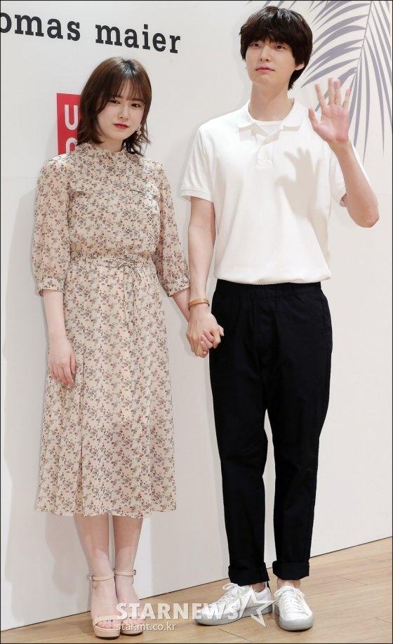 배우 구혜선(왼쪽), 안재현 /사진=김창현 기자