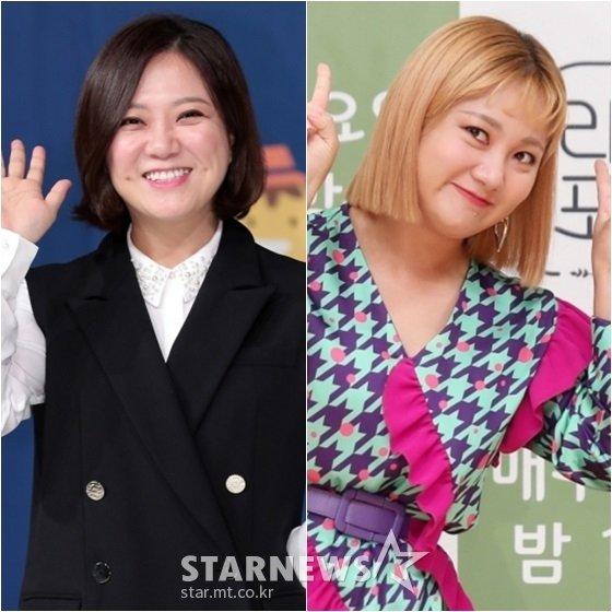 김숙(왼쪽)과 박나래 /사진=스타뉴스