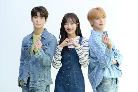 NCT 재현, 에이프릴 나은, 몬스타엑스 민혁(왼쪽부터) /사진제공=SBS