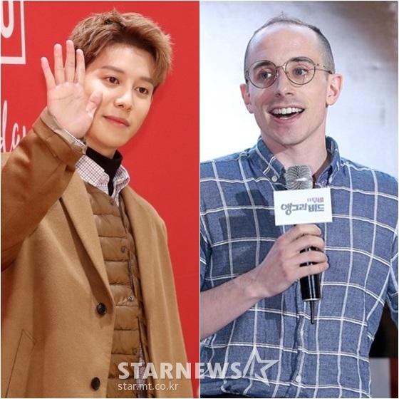 박경(왼쪽)과 타일러 /사진=스타뉴스