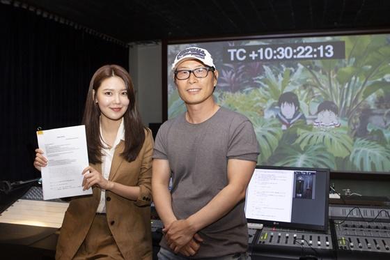 배우 최수영(왼쪽), 김태균 감독 /사진제공=서울배리어프리영화제