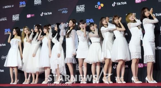 걸그룹 아이즈원 /사진=김휘선 기자