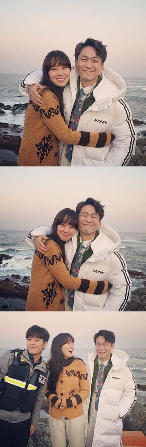 강하늘, 공효진, 오정세/사진=공효진 인스타그램
