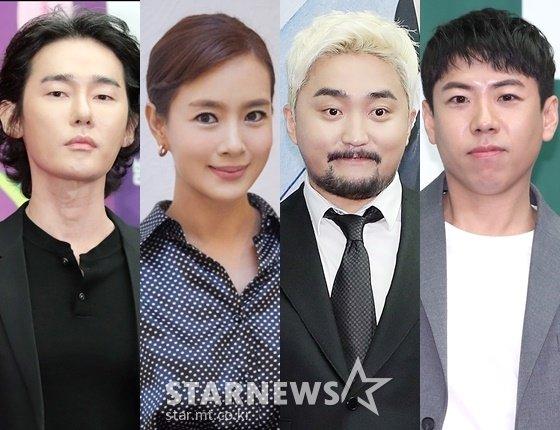 방송인 허지웅, 김원희, 유병재, 양세찬 /사진=스타뉴스, 크리에이티브그룹 ING