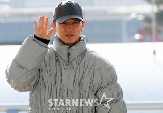 [★화보]장우혁 '오랜만이에요!'