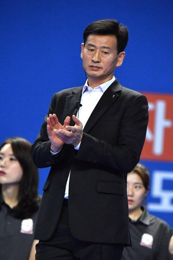 자진 사퇴한 KGC인삼공사 서남원 감독./사진=KOVO