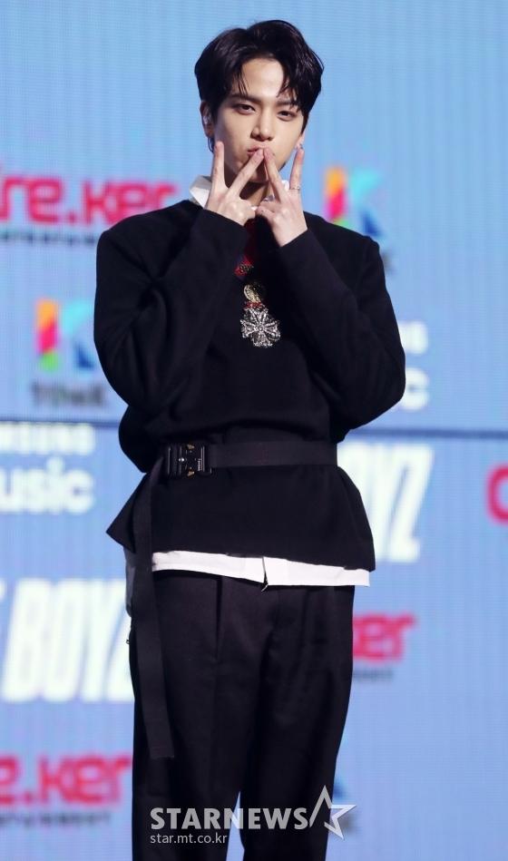더보이즈 멤버 영훈이 오늘 눕방라이브로 복귀할 전망이다./사진=스타뉴스