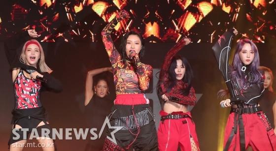 걸그룹 마마무 /사진=김창현 기자