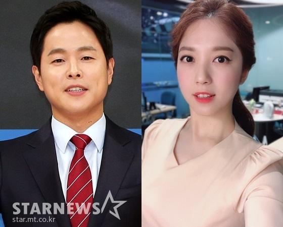 김현우 앵커, 이여진 기상캐스터 /사진=스타뉴스, 이여진 인스타그램