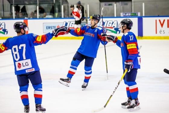 한국 남자 아이스하키 대표팀이 일본전 5연승을 일궈냈다. /사진=대한아이스하키협회 제공