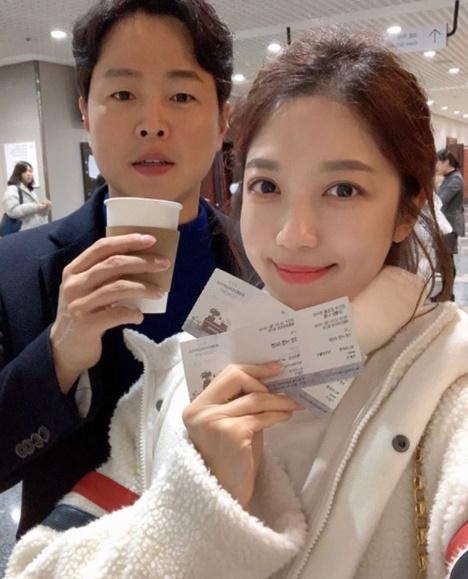 김현우♥이여진 결혼, 박지성→안현모 '화려한 축하'[종합]