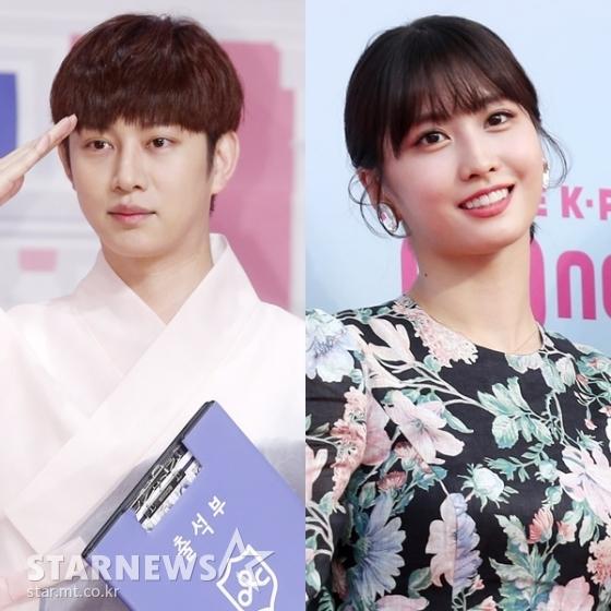(왼쪽부터) 슈퍼주니어 김희철, 트와이스 모모 /사진=스타뉴스