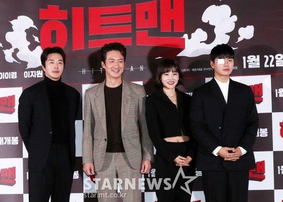 배우 권상우, 정준호, 황우슬혜, 이이경(왼쪽부터) /사진=김휘선 기자