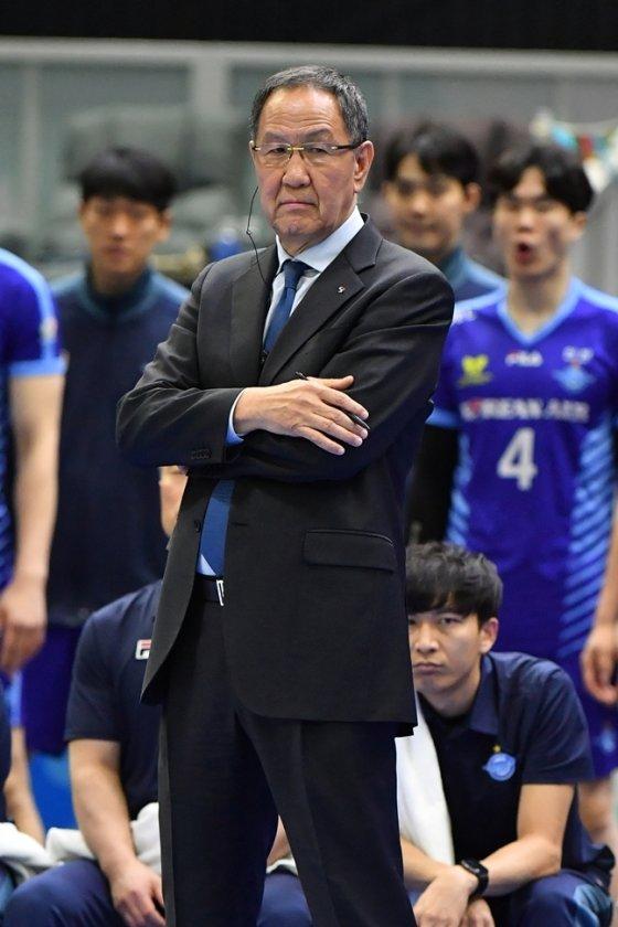 박기원 대한항공 감독./사진=KOVO
