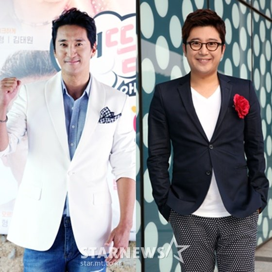 신현준(왼쪽)과 김태진./사진=스타뉴스