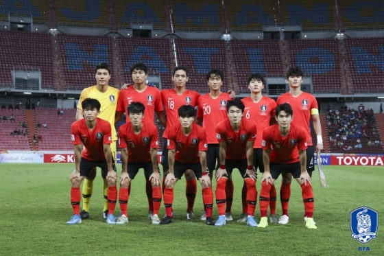 한국의 베스트11. /사진=대한축구협회 제공