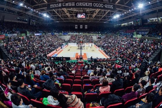 1월19일 올스타전이 열린 인천 삼산월드체육관. 9704명의 관중이 들어찼다. /사진=KBL