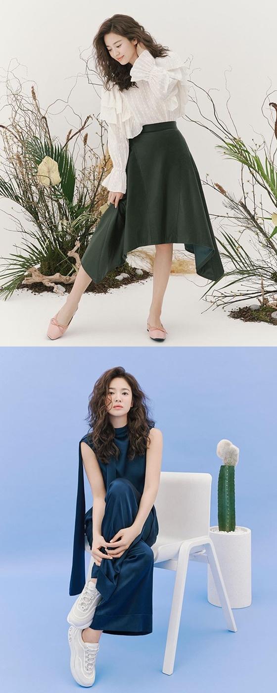 송혜교 /사진=송혜교 인스타그램
