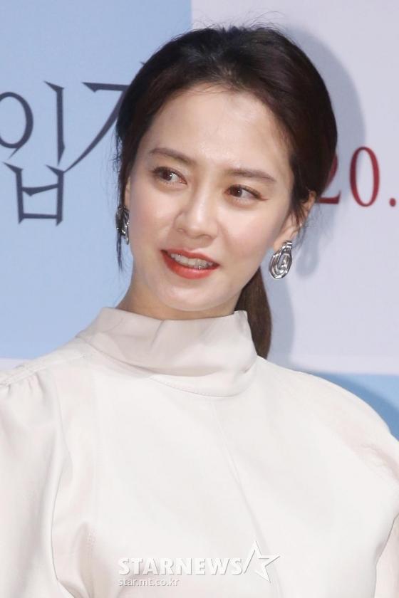 배우 송지효 /사진=강민석 인턴기자