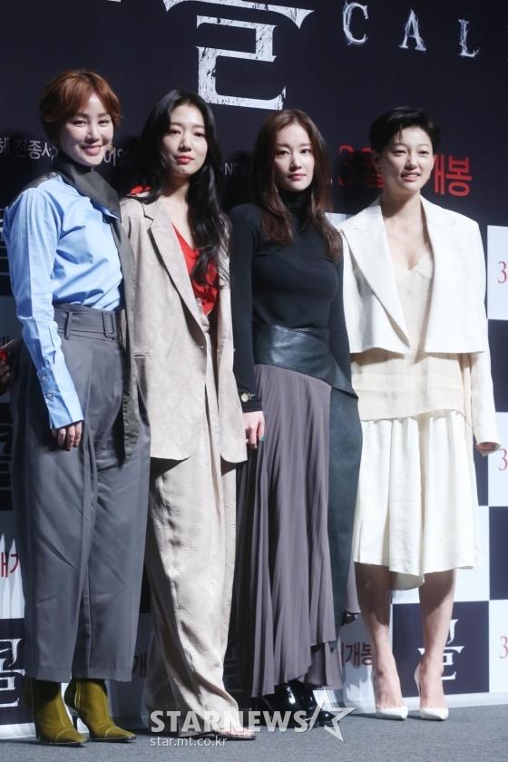 배우 김성령, 박신혜, 전종서, 이엘(왼쪽부터) /사진=강민석 인턴기자