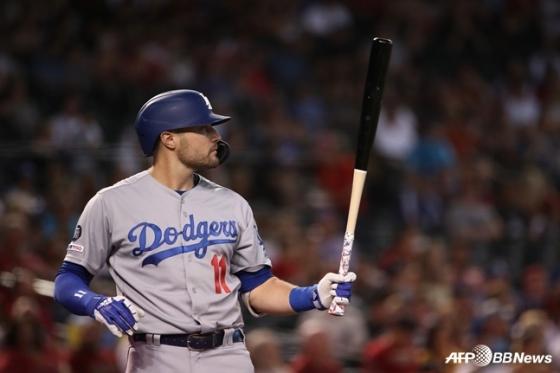 LA 다저스 외야수 A.J. 폴락. /AFPBBNews=뉴스1