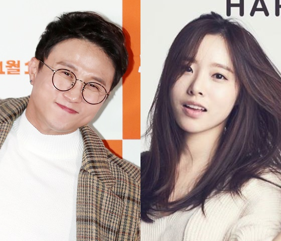 개그맨 박성광, 배우 출신 이솔이 /사진=스타뉴스, '이웃의 수정씨' 페이스북
