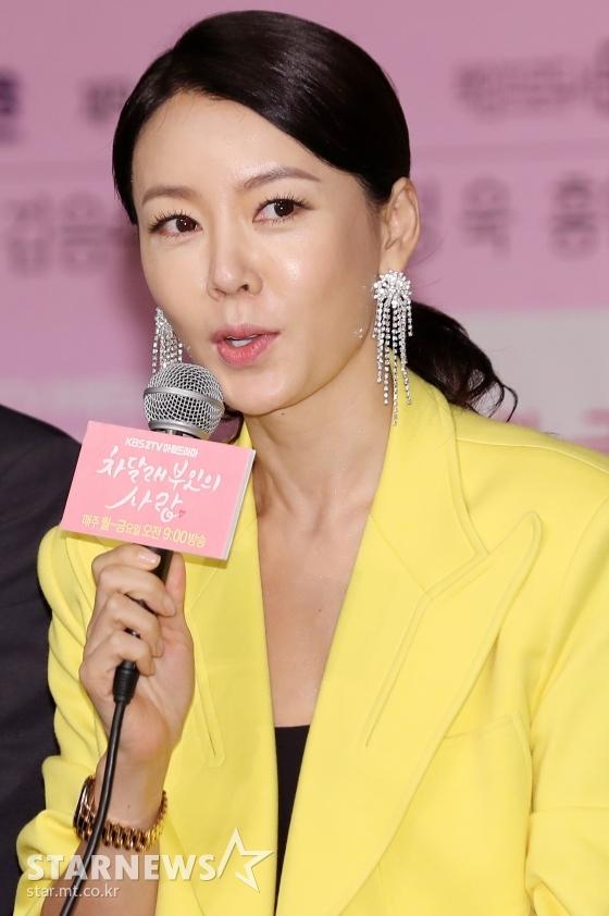 배우 안선영 /사진=김휘선 기자
