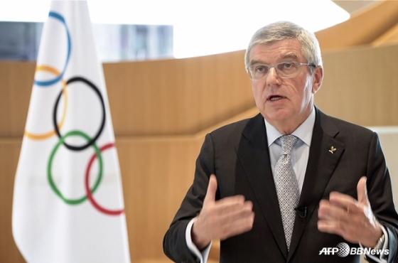 토마스 바흐 IOC 위원장. /AFPBBNews=뉴스1