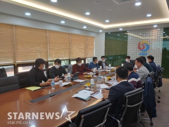 KBO가 31일 오후 1시 도곡동 야구회관에서 실행위원회를 열었다. /사진=한동훈 기자