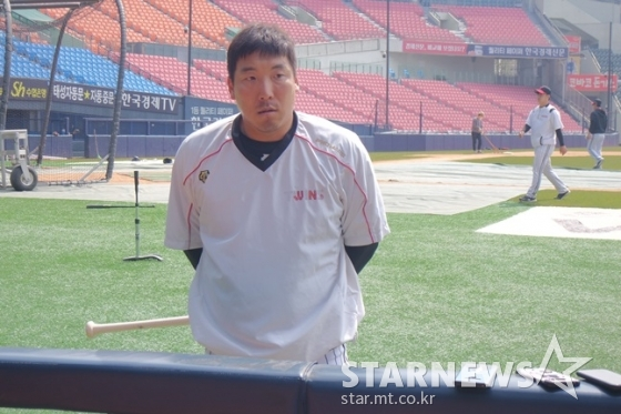 LG 트윈스 '캡틴' 김현수. /사진=김동영 기자