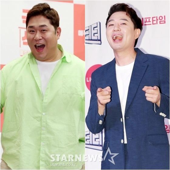 문세윤(왼쪽)과 붐 /사진=스타뉴스
